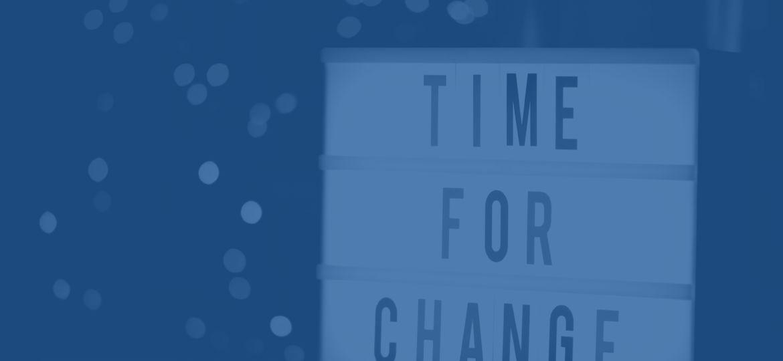 time for change blog